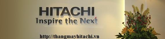 khẩu hiệu của thang máy hitachi